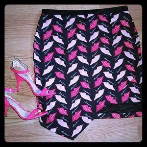 Bisou Bisou Pencil Skirt